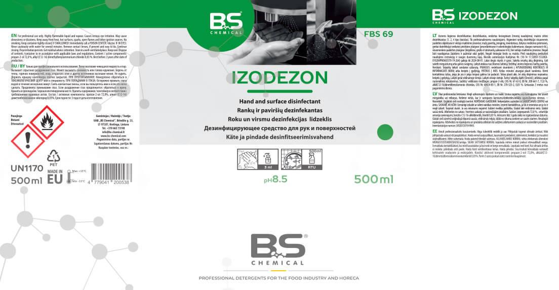 BS Chemical dezinfekantai